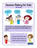 Decision Making for Kids: 5th Grade Lesson Plans