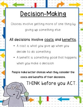 Decision-Making with Elephant and Piggie