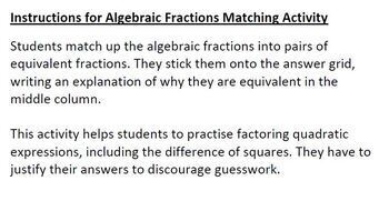 Decision Math Revision Notes