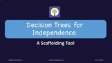 Decision Trees for Independence: A Scaffolding Tool