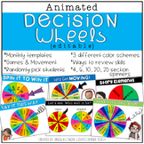 DISTANCE LEARNING Animated Decision Wheels / Digital Spinn