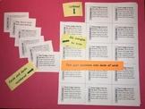 Q&A Remix Tool:  Make Card Decks, Jeopardy or Bingo Games,