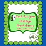 Holiday Gift: Math Card Games for Addition and Subtraction