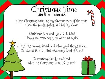 Christmas Poem.Christmas Poems Pack