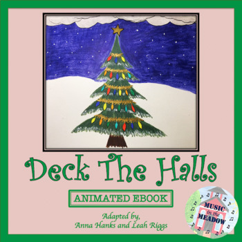 Deck The Halls Ebook with Simple Animation