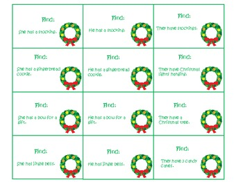 Deck The Halls With Lots of Grammar Pack