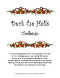 Deck The Halls with Holiday Ornaments Challenge