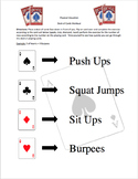 Deck of Cards: Bodyweight workout
