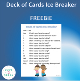 Deck of Cards Ice Breaker