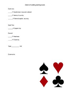 Deck of Cards Project