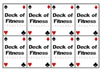 Deck of Fitness