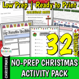 25 Christmas Activities for Elementary Students