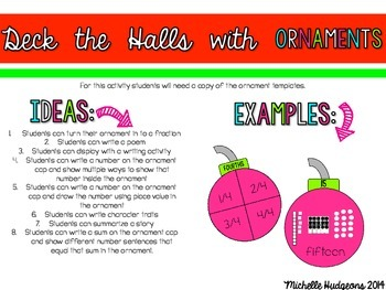 Deck the Halls (4 crafts to accompany any lesson or activity)