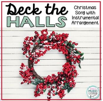 Deck the Halls - Christmas Folk Song with Orff Accompaniment