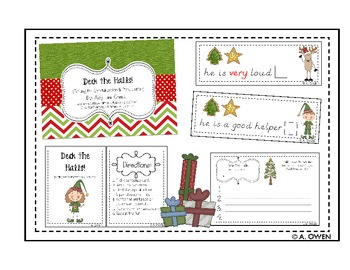 Deck the Halls (Editing Sentences: Capitals & Punctuation)