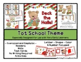 Deck the Halls Theme - Grow With Me Little Bear Tot School
