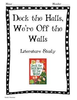 Deck the Halls, We're Off the Walls: My Weird School: Book study