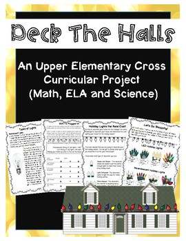 Deck the Halls with Incandescent or LEDs a Holiday Project Base Learning Unit