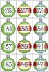 Deck the Halls with Number Lines! Printable number cards and worksheets.