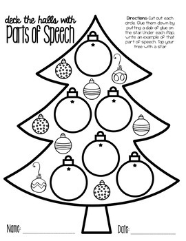 Deck the Halls with Parts of Speech