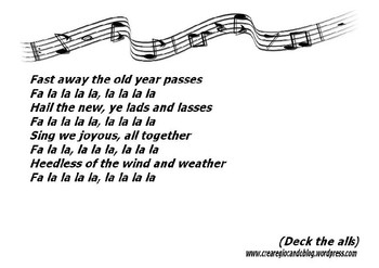 Deck-the-alls song