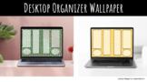 Decktop Organizer Wallpaper - Dots