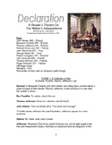Reader's Theater Play - Declaration: Jefferson's Declarati