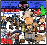 Declaration Of Independence Clip Art Bundle {Educlips Clipart}