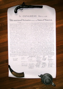 Declaration Of Independence Full Size Archival Facsimile