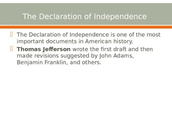 Declaration of Independenc to the Treaty of Paris 1783