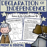 Declaration of Independence Research Activities and Graphic Organizers