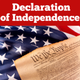 Declaration of Independence   1st 2nd 3rd 4th 5th Grade  