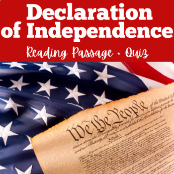Declaration of Independence Activity