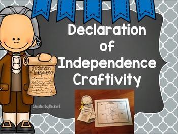 Declaration of Independence Craftivity