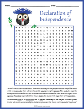 picture regarding Printable Declaration of Independence identified as Declaration of Flexibility Term Seem