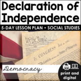 Declaration of Independence Google Classroom™ | Distance Learning