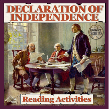 Declaration of Independence Reading Activities