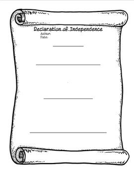 Declaration of Independence - STAAR Social Studies