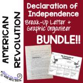 Declaration of Independence Activity & Graphic Organizer Bundle!