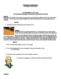 Declaration of Independence Activity Sheet with Questions