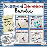 Declaration of Independence Activities Bundle | Civics & A