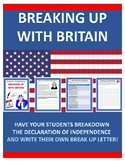 """Declaration of Independence """"Breaking Up with Britain"""""""