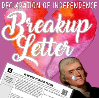 Declaration of Independence Breakup Letter