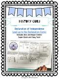 Declaration of Independence Comic Strip {History Guru}