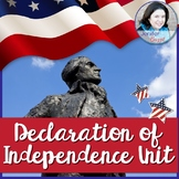 Declaration of Independence- Common Core Reading, Writing,
