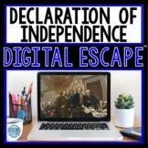 Declaration of Independence DIGITAL ESCAPE ROOM for Google Drive®