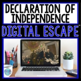 Declaration of Independence DIGITAL ESCAPE ROOM | Distance Learning
