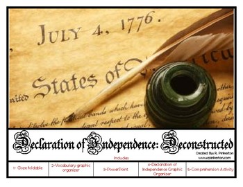 Declaration of Independence:  Deconstructed