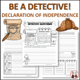 Declaration of Independence: Detective Activity