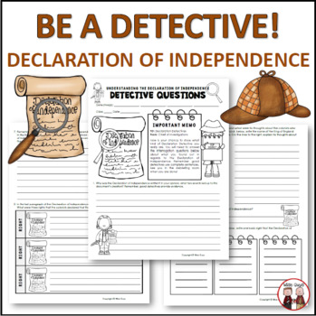 The Declaration Of Independence Worksheets & Teaching